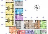 Bán suất ngoại giao chung cư c22 bộ công an (the park home ) căn 86,54m2 ban công đông nam, 3