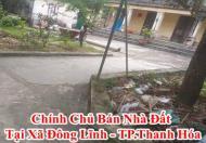Chính Chủ Bán Nhà Đất Tại Xã Đông Lĩnh, Thành Phố Thanh Hóa, Tỉnh Thanh Hóa, giá 3tr/m2.