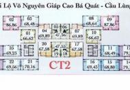 Bán căn hộ CT2 VCN Phước Hải giá chỉ 1.350 tỷ đã bàn giao vào ở - lh 0903564696
