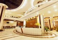 Khách sạn 3 sao, MP Lương Ngọc Quyến, Hoàn Kiếm. 222m, Mt 7m, 6T, 39 phòng.