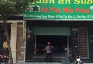 Cho thuê mặt bằng đường Hoàng Ngọc Phách, P.Phú Thọ Hòa, Quận Tân Phú