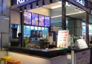 Sang nhượng lại quầy trà sữa trong trung tâm thương mại Q1.