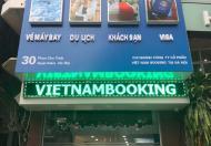 Bán tòa nhà 4 tầng VPKD Cty Du lịch đường Hồng hà gần Sân Bay giá 13,9 tỷ