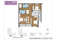 Bán suất ngoại giao căn 120m2 tại chung cư The Park home ( c22 bộ công an) tầng đẹp, chỉ 38