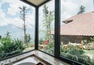 Bán villas khuôn viên 400m2 trên Sapa - sổ vĩnh viễn - khách thuê ổn định