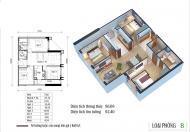 Bán gấp căn 3 Ngủ 92m full nội thất Eco Green Nguyễn Xiển 2,5 tỷ