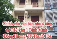 Chính chủ cần bán nhà tại P12 khu 1 Bình Minh, Đông Hương, Thành Phố Thanh Hóa.