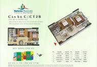Bán căn hộ CT2B.3113 Gelexia Riverside 885 Tam Trinh, căn hộ 69.4m2 thiết kế 2 phòng ngủ, 2 vệ