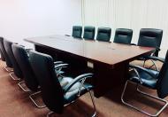 Cho thuê văn phòng hạng A tại Charmvit Tower, 102m2, đủ nội thất và văn phòng, khách chỉ việc mang vali đến làm việc