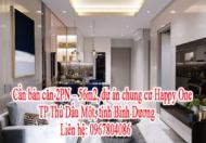 Cần bán căn 2PN - 56m2, dự án chung cư Happy One - Bình Dương