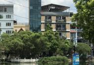 Cho thuê mặt bằng làm văn phòng, DT 80M2, có thang máy, View hồ thoáng và sáng.