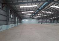 Cho thuê kho xưởng siêu đẹp tại khu CN Phú Minh, Cổ Nhuế, Bắc Từ Liêm, Container đỗ cửa - DT: 320m