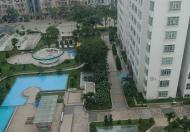 Cho thuê căn hộ Giai Việt 115m2, 2PN, nhà đẹp, đủ nội thất, giá 14tr/th