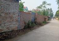 Bán đất Minh Phú, Sóc Sơn, Lô góc, gần UBND, đường 2 ô tô tránh nhau thoải mái