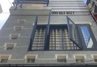 Hộ khẩu ngay TT Q10. Bán nhà 4 tầng, 5 Phòng ngủ giá 6.7 tỷ, Thành Thái.