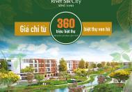 Mở bán phân kỳ 2 đẹp nhất dự án river silk hà nam ngay bệnh viện Bạch Mai giá 16tr lh 0898062019