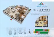 Bán căn góc 11 tòa CT1 diện tích 110.74m2 Gelexia Riverside ban công Đông Nam tầng 17 - 19 giá rẻ