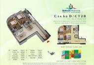 Bán căn 08 tòa CT2B tầng 20 - 23 Gelexia Riverside có nội thất, giá 1,790 tỷ có nội thất