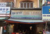 Bán nhà 3 tầng mặt tiền tiện kinh doanh tại Trung Tâm chợ xã Thới Lai, Bình Đại, Bến Tre, giá đầu tư