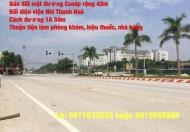 Cần bán nhanh lô đất đường SEP -  Đại học Văn Hóa Thanh Hóa  đã ép cọc móng