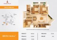 Bán gấp căn hộ 105m2 chung cư Golden palace Mễ Trì. LH: 0919 589 650