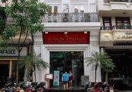 Bán nhà Lô góc Mặt phố Thái Hà, 60m2, 5 tầng, 6m mặt tiền, hiệu suất thuê 80 triệu/ tháng.