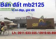 Bán đất Nơ 01 mặt bằng 2125 - Khu đô thị Nam Thành phố Thanh Hóa