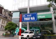 Bán nhà mặt phố Thái Hà, Đống Đa, 202m2 x 9 tầng thông sàn thang máy, mặt tiền 6m, 105 tỷ.