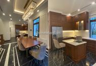 Cần cho thuê căn villa tại vinhomes central park 316m2, 3 tầng, nội thất cap cấp hiện đại
