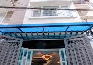 Bán nhà mới, HXH 4 tầng, gần Vòng Xoay Lê Quang Định, DT: 55m2 Giá 6,3 tỷ.