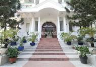 Cho thuê villa Thảo Điền đường 41 506m2 đất 3 tầng 15 phòng ngủ