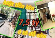 Bán nhà ngõ 91 Nguyễn Chí Thanh phân lô oto tránh+vỉa hè S37m 5T MT3.6m 7.1tỷ 0984707023