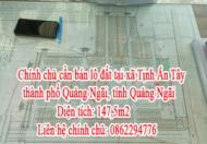Chính chủ cần bán lô đất tại xã Tịnh Ấn Tây, thành phố Quảng Ngãi, tỉnh Quảng Ngãi