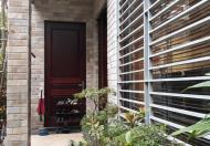 Cho thuê nhà riêng, căn góc sau đường Hàm Nghi, KĐT Mỹ Đình 1. Diện tích 120m*4 tầng, full nội thất