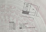 Chính chủ cần bán thửa đất 61m2 mặt tiền 5m tại tổ 6 Trung Hà, Ngọc Thụy