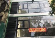 Cho thuê nhà ngõ 61 phạm tuấn tài 105m x 5T  ngõ ô tô tránh