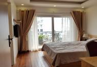 [ID: 814] Cho thuê căn hộ dịch vụ tại Hàm Long, Hoàn Kiếm, 45m2, 1PN, ban công rộng, đầy đủ nội thất