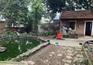 Đẹp miễn chê, 1000m đất nhà vườn tại Phú Mãn, Quốc oai. khuôn viên sẵn nhà chỉ việc ở. ...