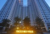 Bán gấp căn 2pn tầng 10 tòa A chung cư Tecco Skyville
