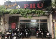 Sang nhanh quán bida đang hoạt động tốt tại mặt tiền đường Lê Trọng Tấn, quận Tân Phú
