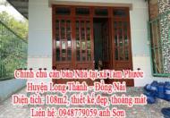 Chính chủ cần bán Nhà tại xã Tam Phước - Huyện Long Thành - Đồng Nai