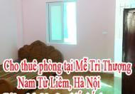 Cho thuê phòng tại Mễ Trì Thượng, Nam Từ Liêm, Hà Nội. Gần Trung Tâm Hội Nghị Quốc Gia ,Big C