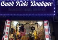 Sang nhượng toàn bộ cửa hàng thời trang trẻ em tại 156 Tô Hiệu, Hà Đông, Hà Nội.