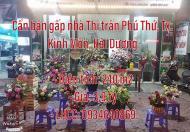 Chính chủ cần bán gấp nhà Đường Vũ Mạnh Hùng, Thị trấn Phú Thứ, Thị xã Kinh Môn, Hải Dương