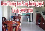 Bán nhà 1 trệt 2 lầu Hẻm 47 Trường Lưu P.Long Trường Quận 9
