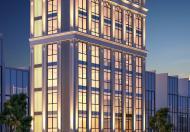 Cho thuê tòa nhà lô góc 2 mặt đường nhựa 9 tầng mặt phố Thái Thịnh. Giá= 190tr/th