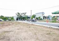 Bán lô đất mặt tiền trung tâm, đối diện khu công nghiệp, sát chợ, sổ đỏ sẵn, thổ cư XD