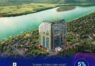Ra hàng tòa K view đẹp Sông Đà - Ban công hướng Đông Nam - Wyndham Lynn Times Thanh Thủy