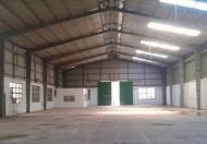 Cho thuê 550m2 kho xưởng hiện đại tại thường tín.