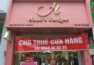 Cho thuê cửa hàng mặt phố tại Phường Kim Mã, Quận Ba Đình .   16 Triệu/tháng